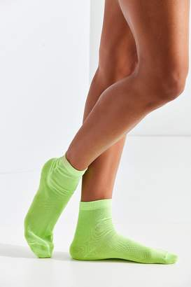 Out From Under Neon Sheer Glitter Ankle Sock