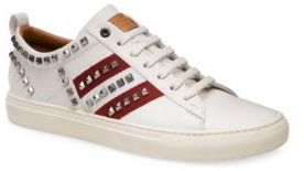 Bally Helvio Studded Low Top Sneakers $525 thestylecure.com