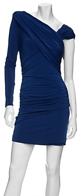 Exclusive For Intermix Exclusive One Sleeve Ruched Dress