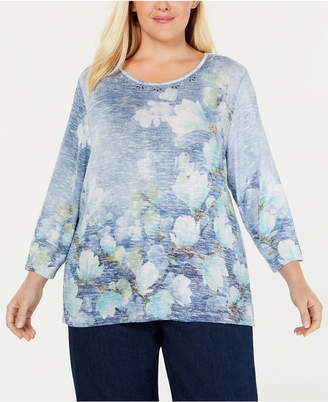 e95eed08f7ce6 Alfred Dunner Blue Plus Size Clothing - ShopStyle Australia