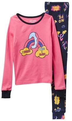 Joe Fresh Long Sleeve Pajama Set (Big Girls)