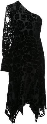 Josie Natori Burnout velvet dress