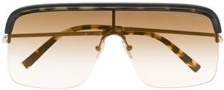 Cutler & Gross aviator shaped sunglasses