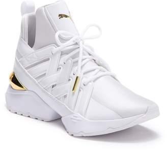 Puma Muse Echo New School Leather Sneaker