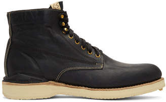 Visvim Black Virgil Folk Boots