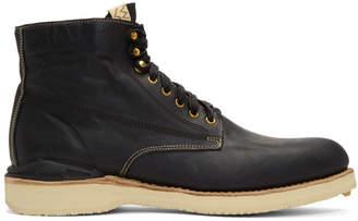 Visvim Black Virgil Folk Boots