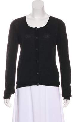 Dries Van Noten Button-Up Wool Cardigan
