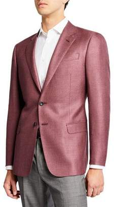 Giorgio Armani Men's Solid Sport Jacket