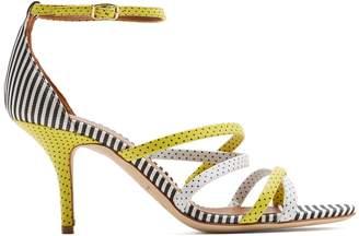 X Emanuel Ungaro Cindy leather sandals