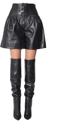 Alberta Ferretti Nappa Shorts