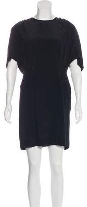 Stella McCartney Silk Short Sleeve Dress
