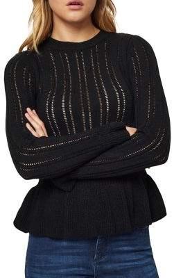 Miss Selfridge Peplum Jumper Sweater