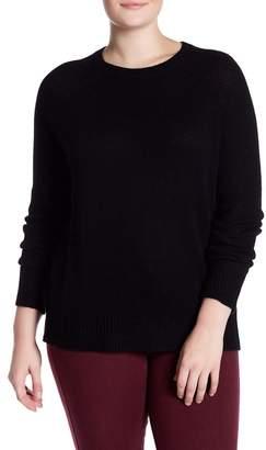 Naked Cashmere Lana Crew Neck Cashmere Sweater (Plus Size)