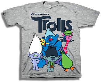 Freeze Toddler Boys Graphic Tees Trolls Graphic T-Shirt-Toddler Boys