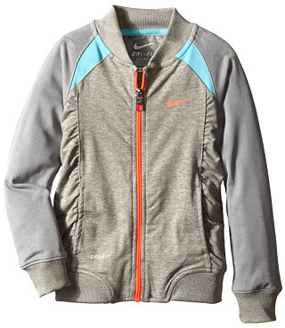 Nike Kids Dri-Fit Sport Essentials Full Zip Baseball Jacket (Little Kids)