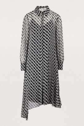 Diane von Furstenberg Asymmetrical shirt dress