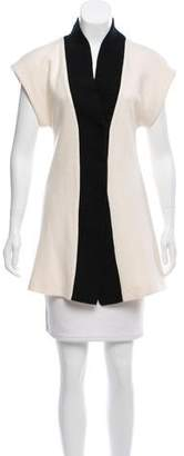 Alice + Olivia Cap Sleeve Wool Cardigan