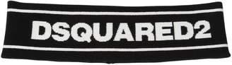 DSQUARED2 Logo Viscose Blend Knit Headband