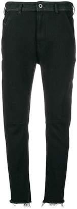 Diesel Black Gold raw edge jeans
