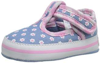 Gerber Girls' Chambray/Flower Mj K Sneaker