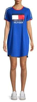 Tommy Hilfiger Performance Short Sleeve Logo Dress