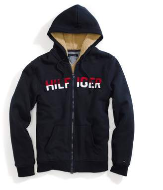 Tommy Hilfiger Sherpa-Lined Hoodie