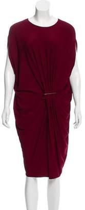 Lanvin Short Sleeve Midi Dress