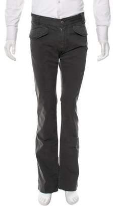 Suana Zipper-Trimmed Twill Pants w/ Tags