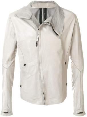 Isaac Sellam Experience asymmetric leather jacket