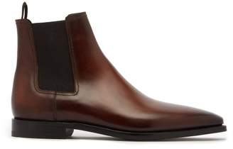 Berluti - Eclair Leather Chelsea Boots - Mens - Brown