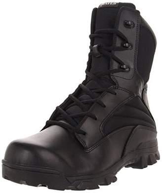 Wolverine Bates Men's 8 Inch Leather Nylon Side Zip Uniform Boot