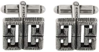 Givenchy burnished logo cufflinks