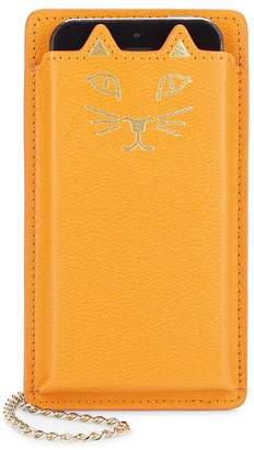 Charlotte Olympia Women's Feline iPhone 5 Leather Case