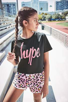 Hype Girls Leopard Short - Pink