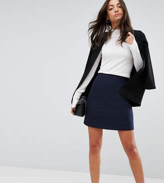 Asos Tall TALL Tailored A-Line Mini Skirt