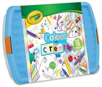 Crayola Vivid - 'Crayola' Colour And Create Tub