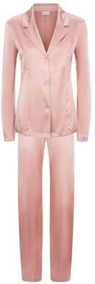 La Perla Silk Reward Powder-Pink Silk Pyjama Set