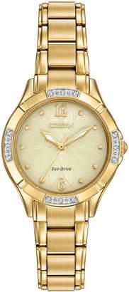 Citizen 30mm Diamond Eco-Drive Bracelet Watch