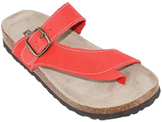 White Mountain Heritage by Leather Thong Sandals - Carly