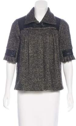 Mayle Wool-Blend Tweed Jacket