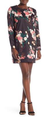 Love, Fire Floral Print Dress