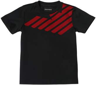 Emporio Armani Logo Cotton Jersey T-Shirt