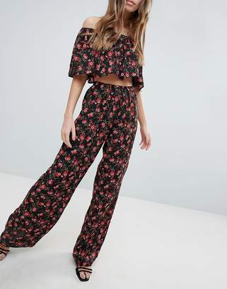 Oh My Love Printed Trousers