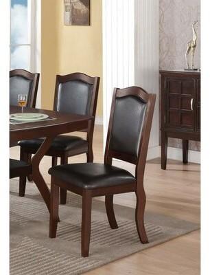 Charlton Home Rubino Contemporary Upholstered Dining Chair Charlton Home