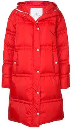CK Calvin Klein Parachute long puffer coat