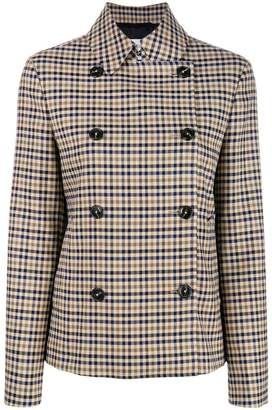 Closed buttoned up coat
