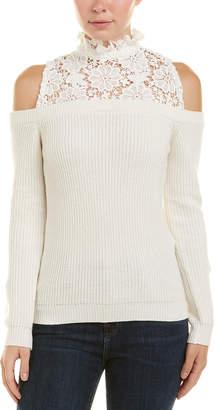 Central Park West Cold-Shoulder Sweater