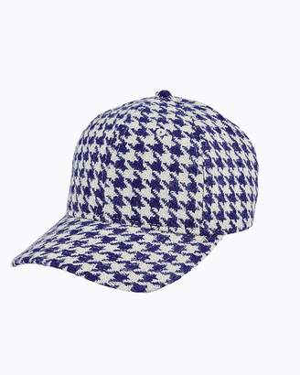 Express San Diego Hat Company Houndstooth Ball Cap