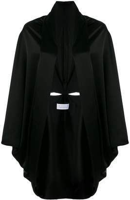 Gianluca Capannolo loose fit cape