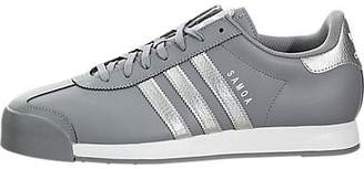 adidas Samoa Men US 9.5 Gray Sneakers